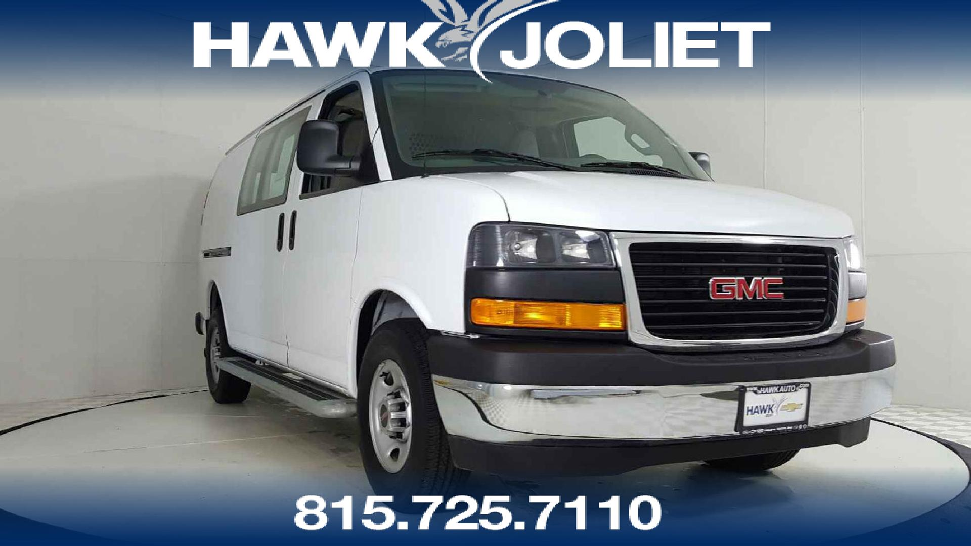 Joliet Used 2017 Gmc Savana Cargo Van Vehicles For Sale Vehicle Photo In Il 60435