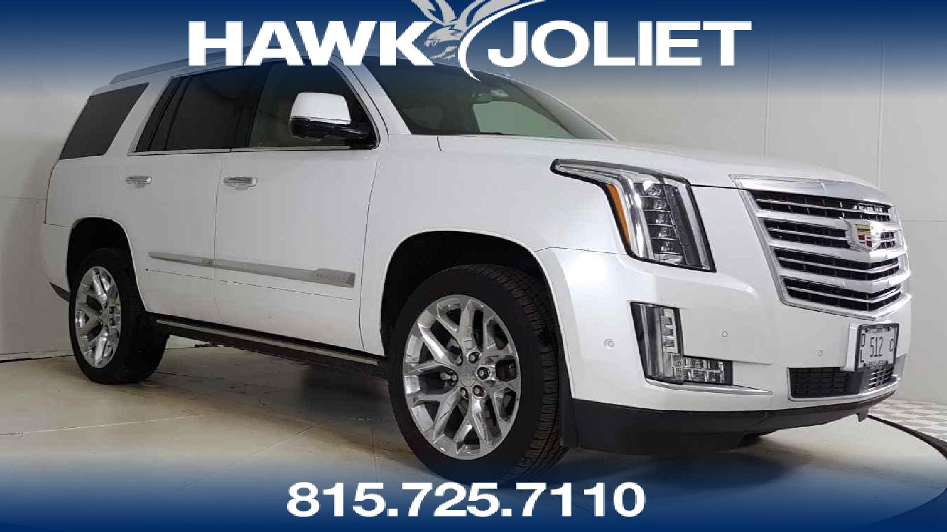 certified 2017 cadillac escalade platinum for sale in joliet, il