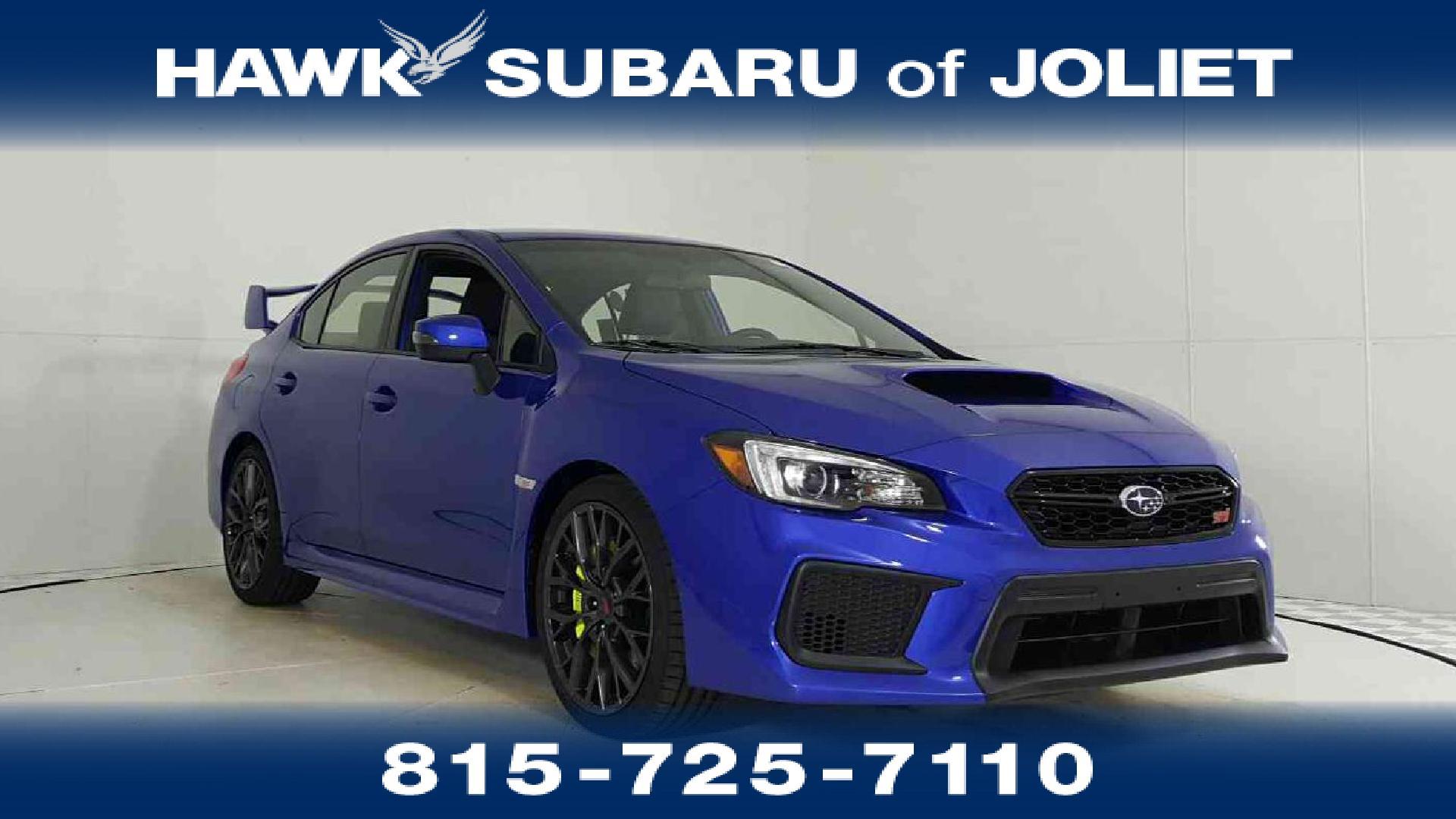 New 2019 Subaru Wrx Sti For Sale In Joliet Il Near Lockport Il