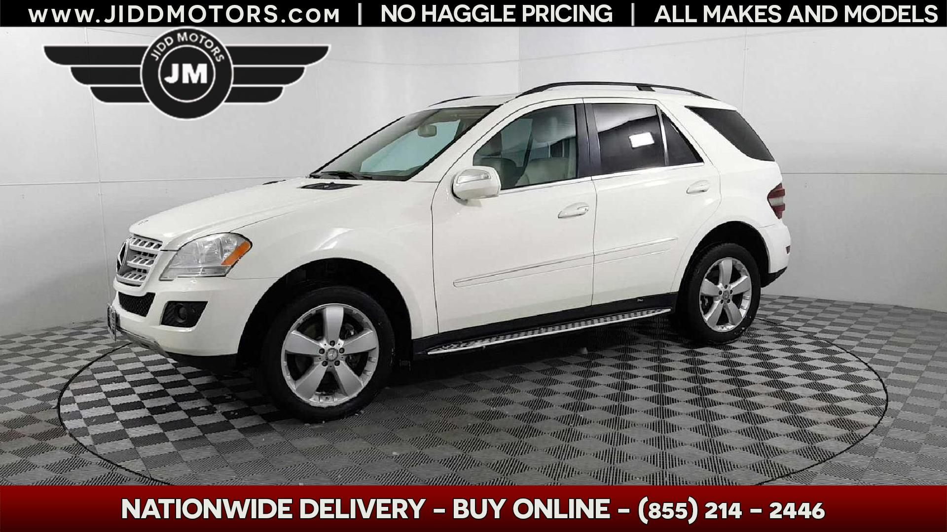 Used 2010 Mercedes Benz M Class Ml 350 4matic In Des Plaines