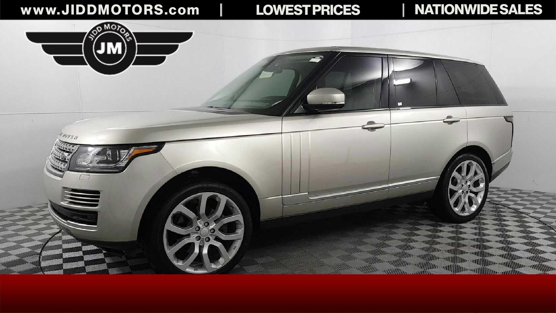 Used 2015 Land Rover Range Rover 3 0l V6 Supercharged Hse In Des Plaines