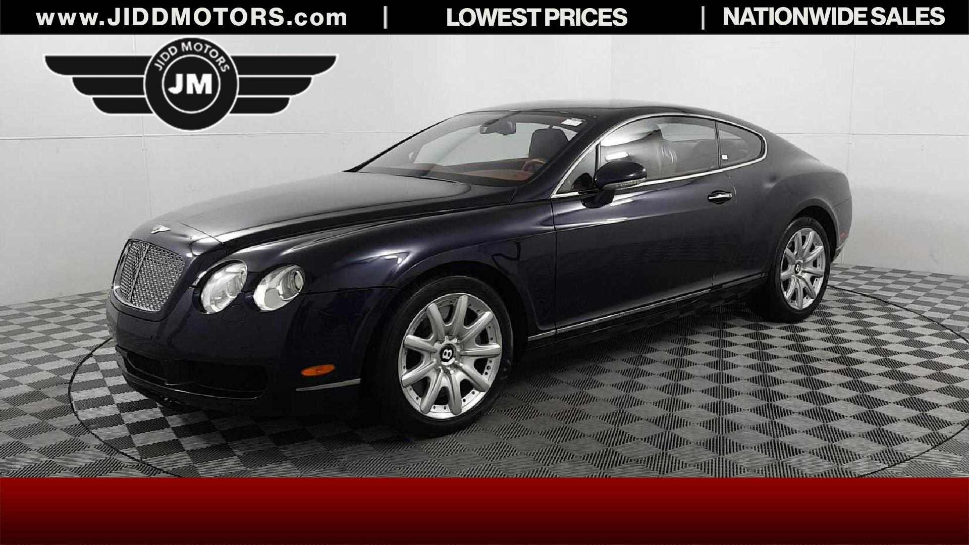 Sold 2005 Bentley Continental Gt Base In Des Plaines
