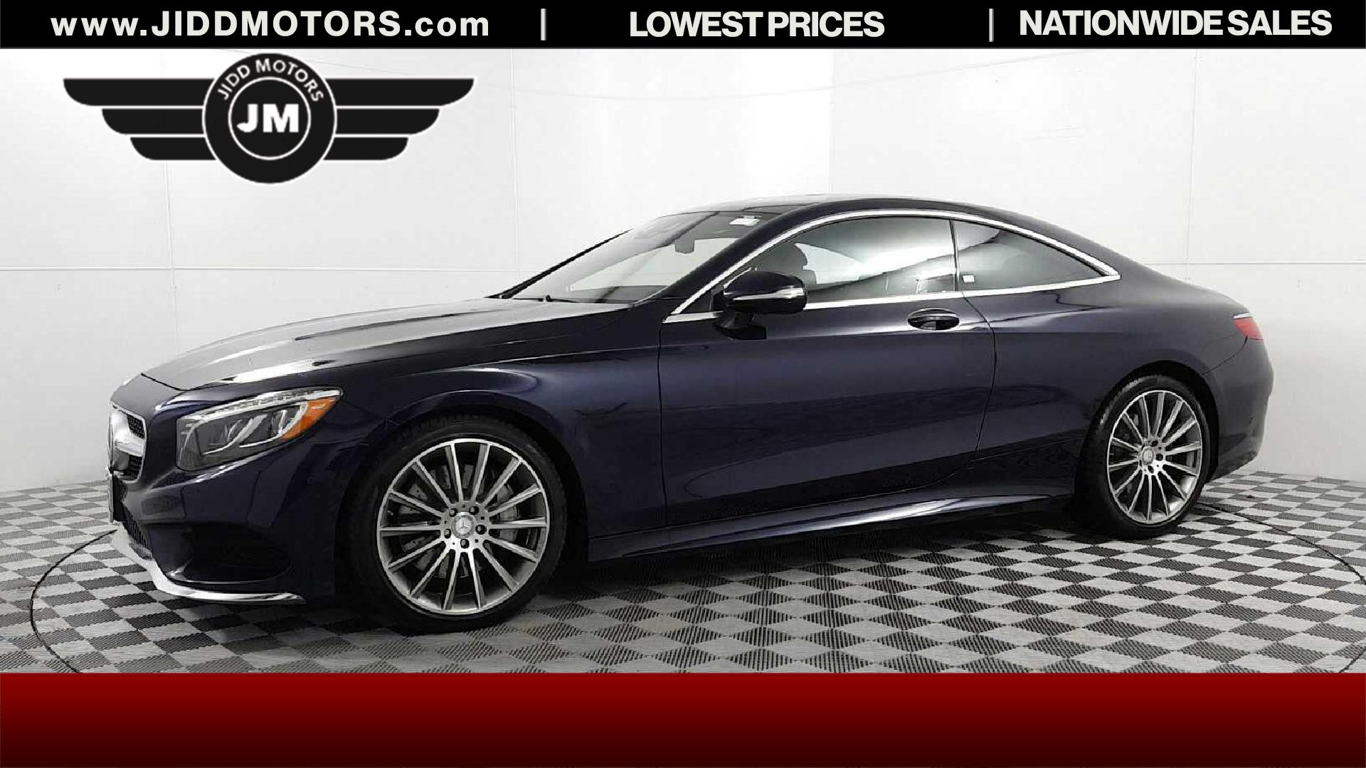 Sold 2016 Mercedes Benz S Class S 550 4MATIC in Des Plaines