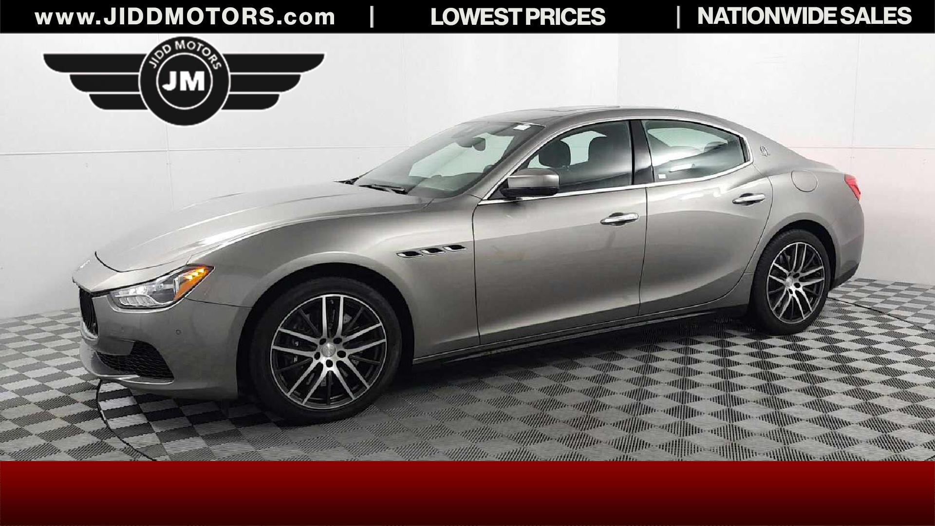 used 2017 maserati ghibli s q4 in des plaines