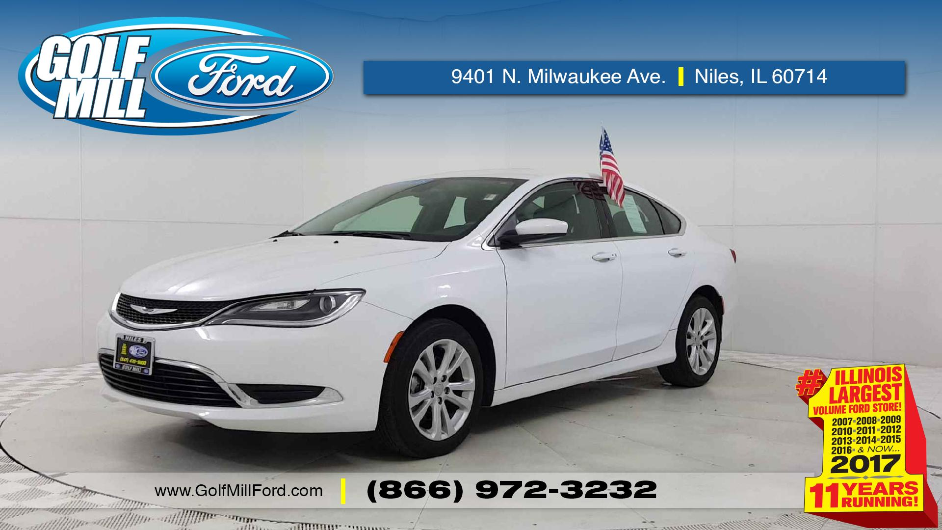 Used Chrysler For Sale In Niles Il Golf Mill Ford 200 Fuel Filter 2016 Limited