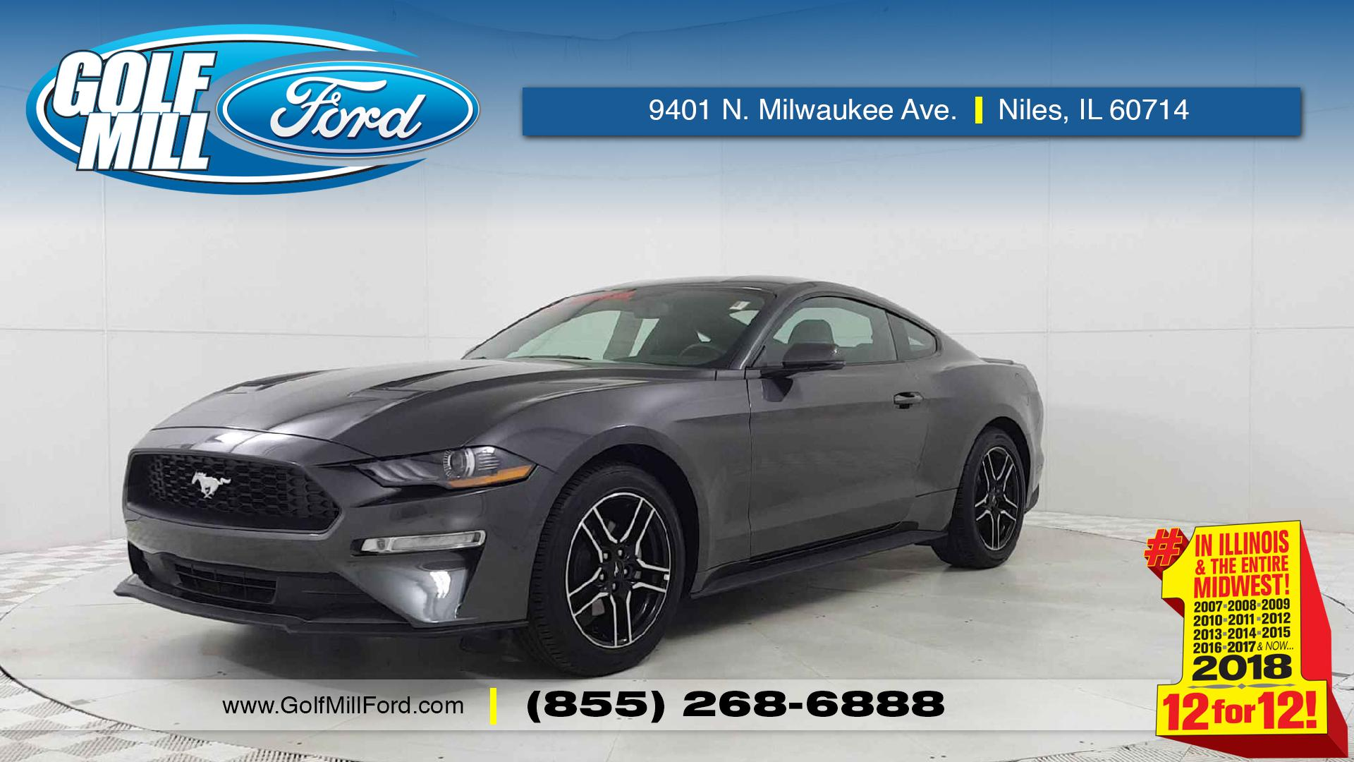 Used e Owner 2018 Ford Mustang EcoBoost Premium in Niles IL