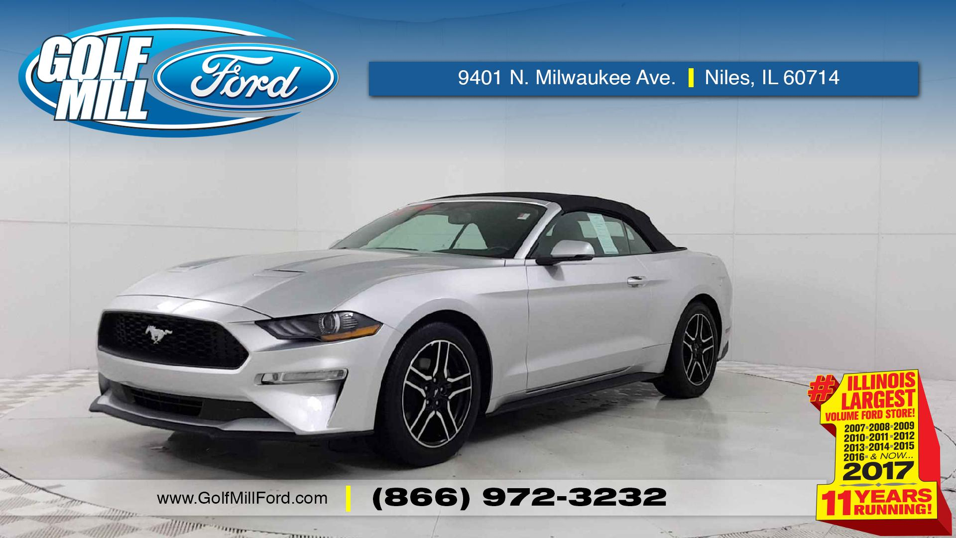 2018 Ford Mustang for sale in Joliet 1FATP8UH5J Hawk