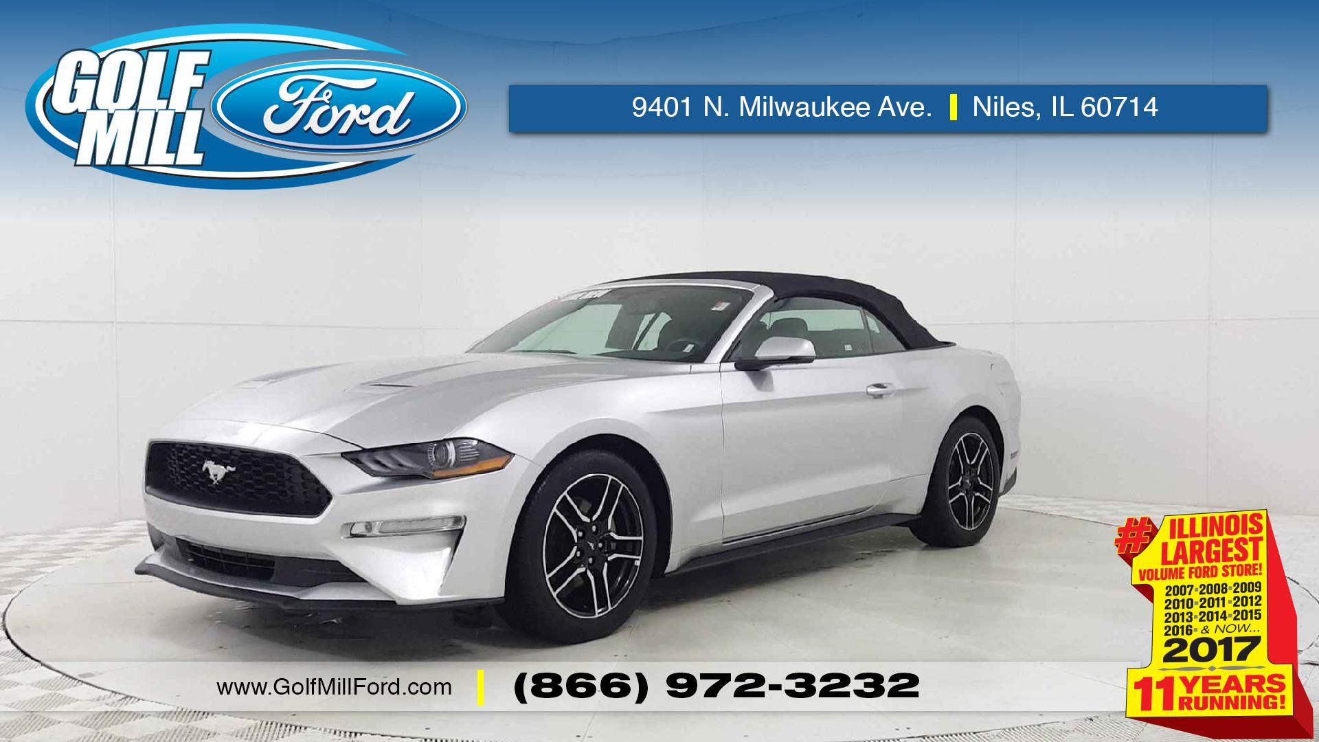 Joliet Used 2018 Ford Mustang Vehicles for Sale