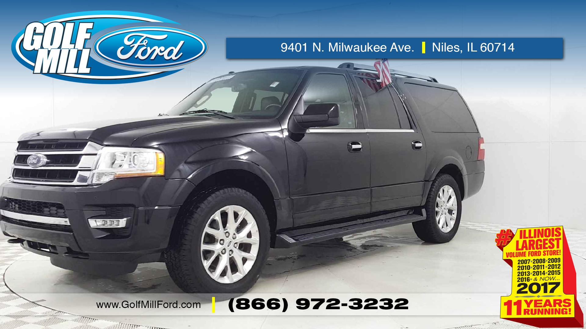 Used 2017 ford expedition el limited