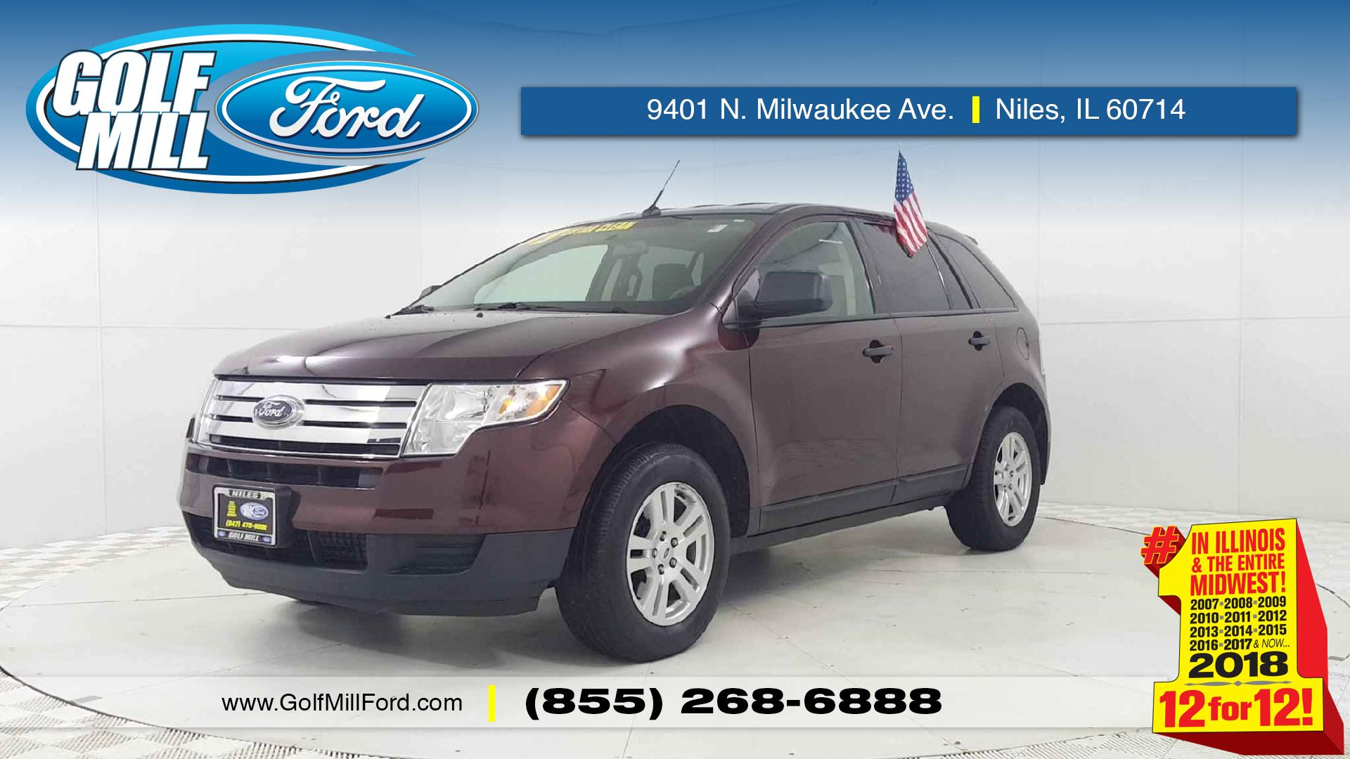 Ford Edge Vehicle Photo In Joliet Il