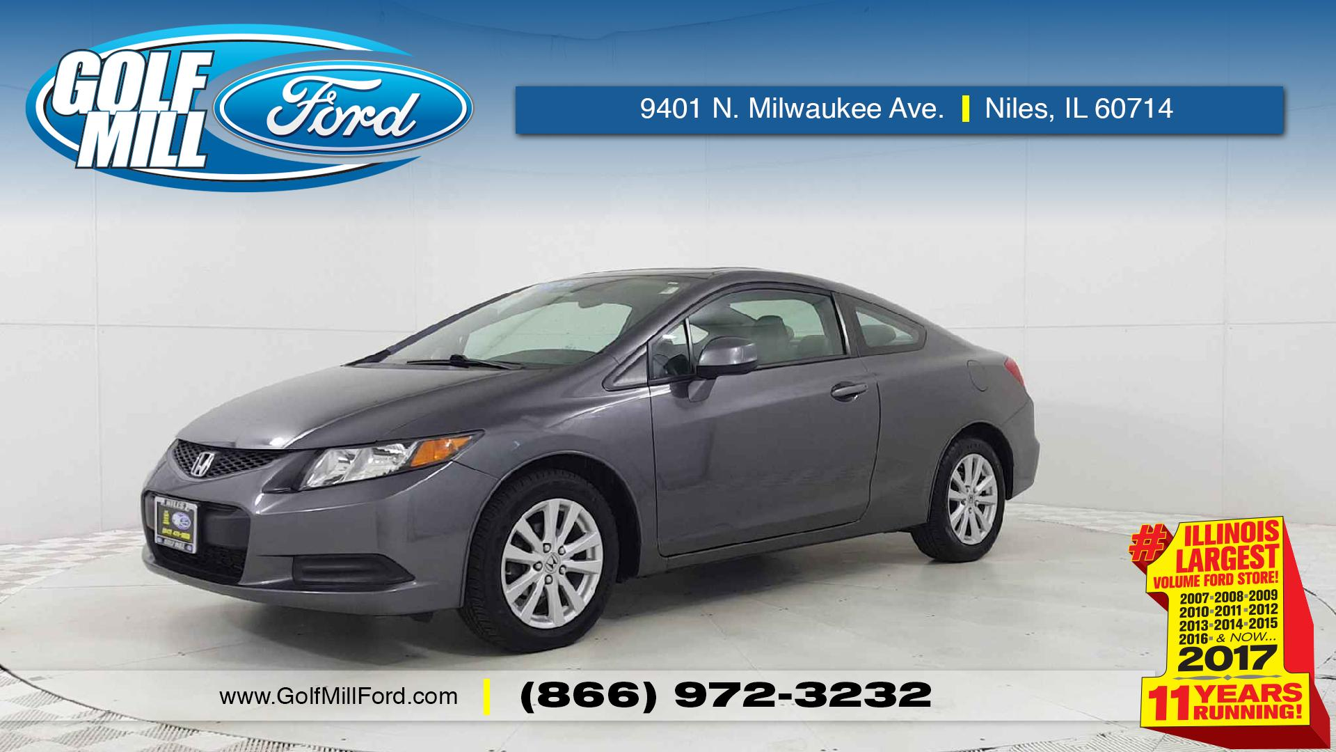 Joliet 2012 Honda Accord Coupe Vehicles For Sale Civic Vehicle Photo In Il 60435