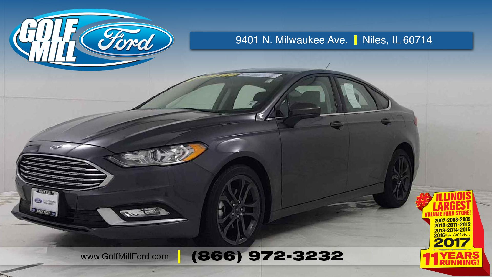 2018 ford fusion vehicle photo in joliet il 60435