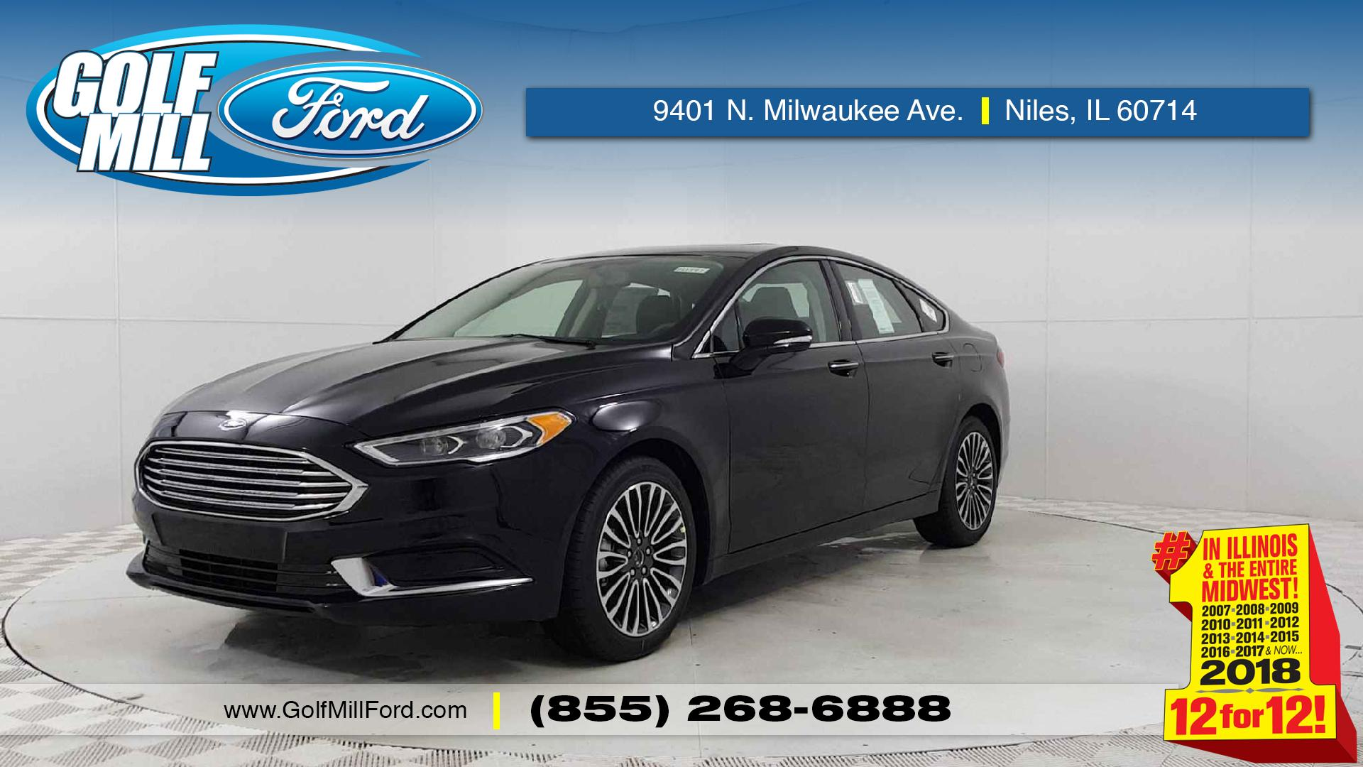 New 2018 Ford Fusion SE near Melrose Park IL Golf Mill Ford