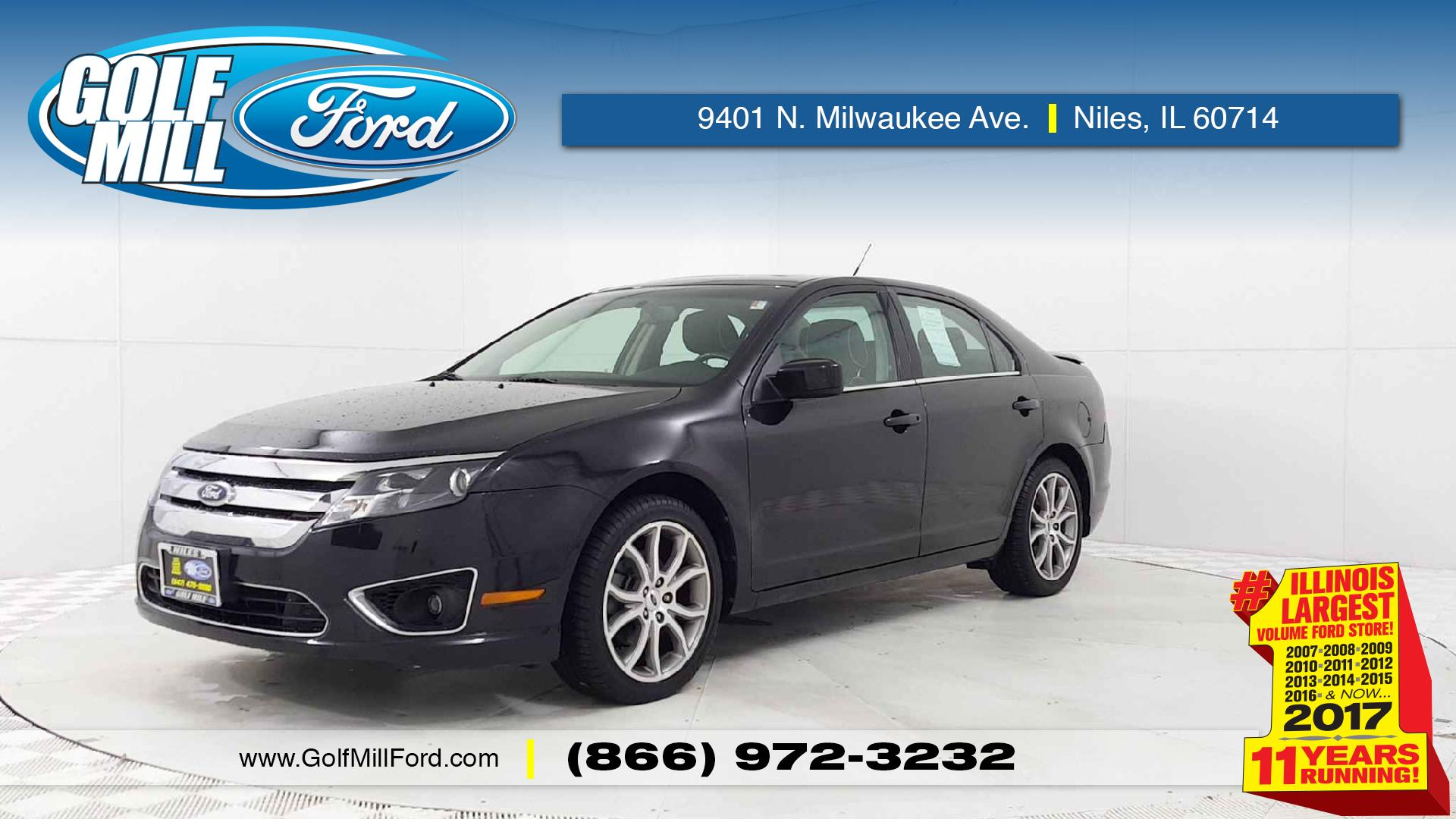 Used Fusion For Sale In Niles Il Golf Mill Ford 2007 Radio Display 2011 Se