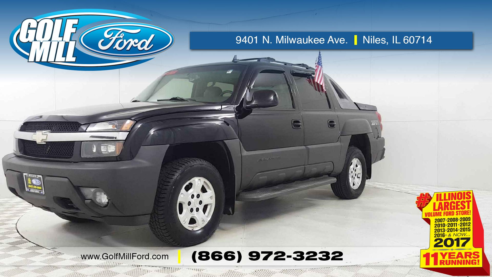 Joliet Used Chevrolet Avalanche Vehicles for Sale