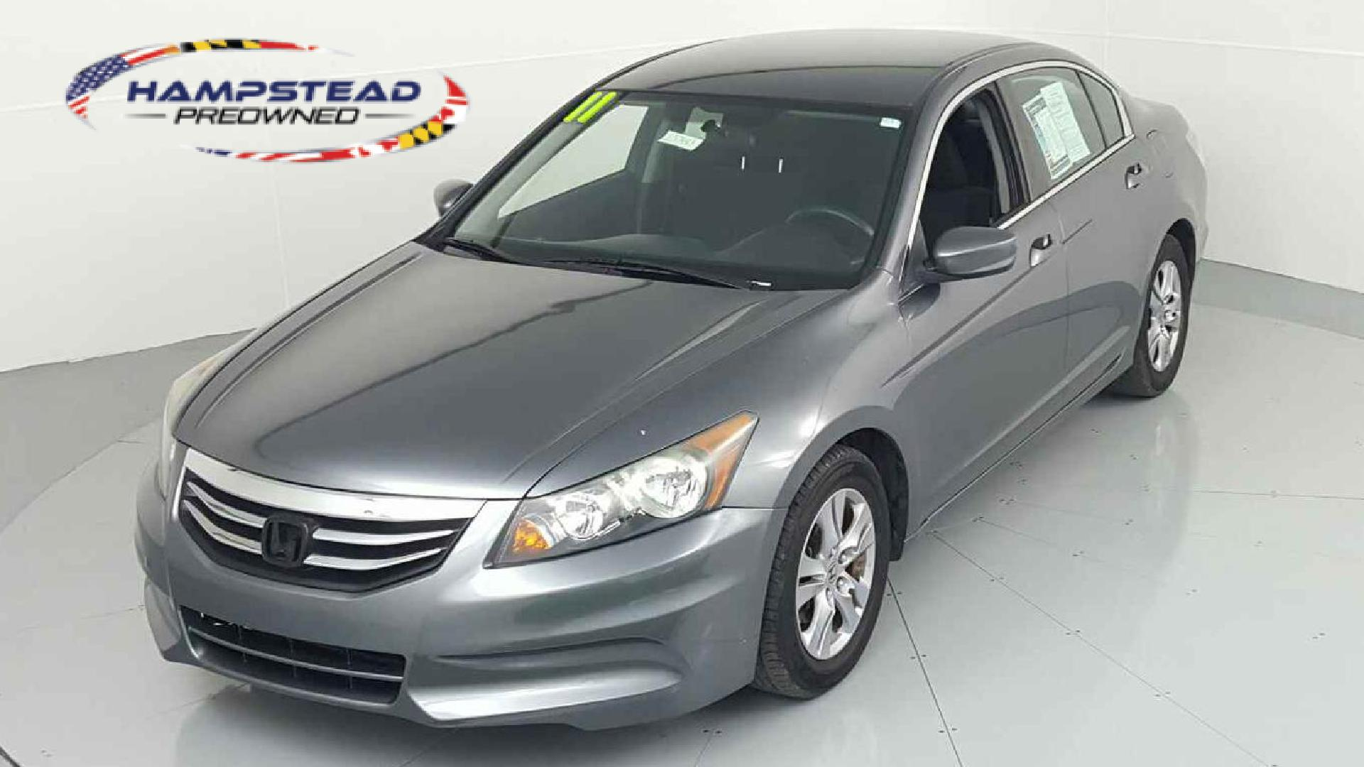 Pre-Owned 2011 Honda Accord LX-P 4-door Mid-Size Passenger