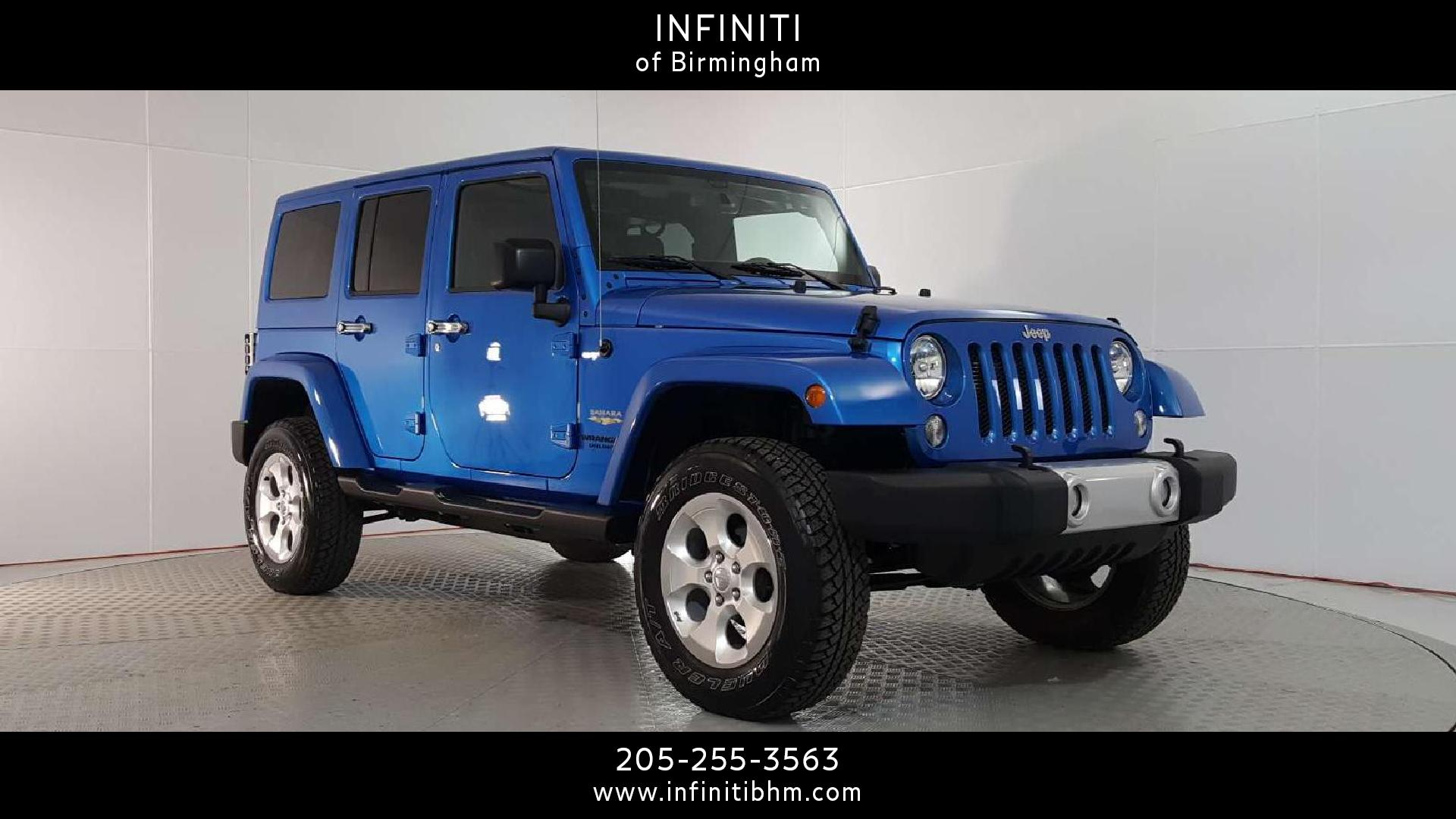 Hoover Jeep Wrangler Unlimited Vehicles for Sale