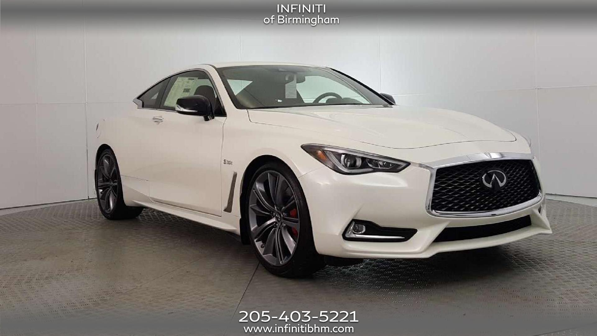 New 2019 Infiniti Q60 3 0t Red Sport Rwd