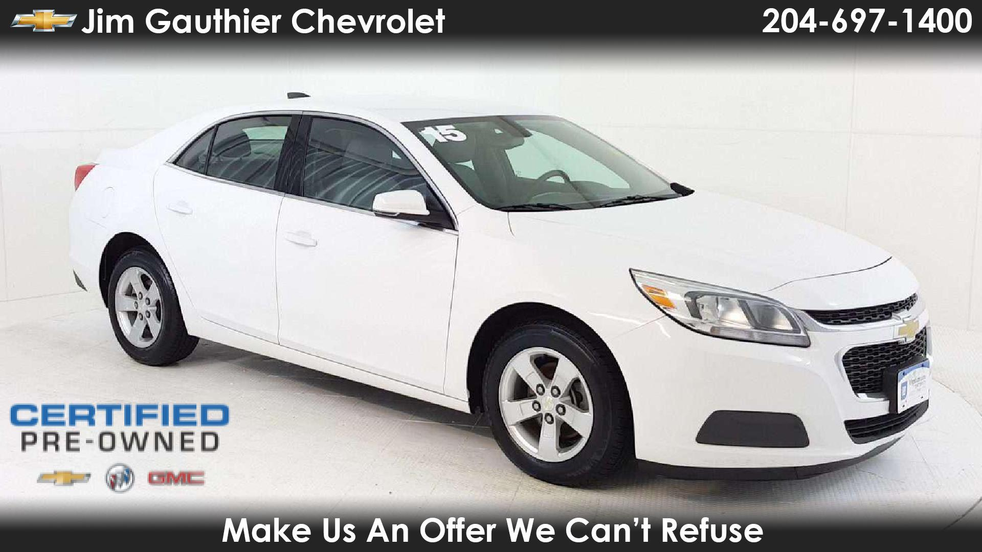 Used Cars For Sale In Winnipeg >> Jim Gauthier Chevrolet In Winnipeg Used Chevrolet Malibu