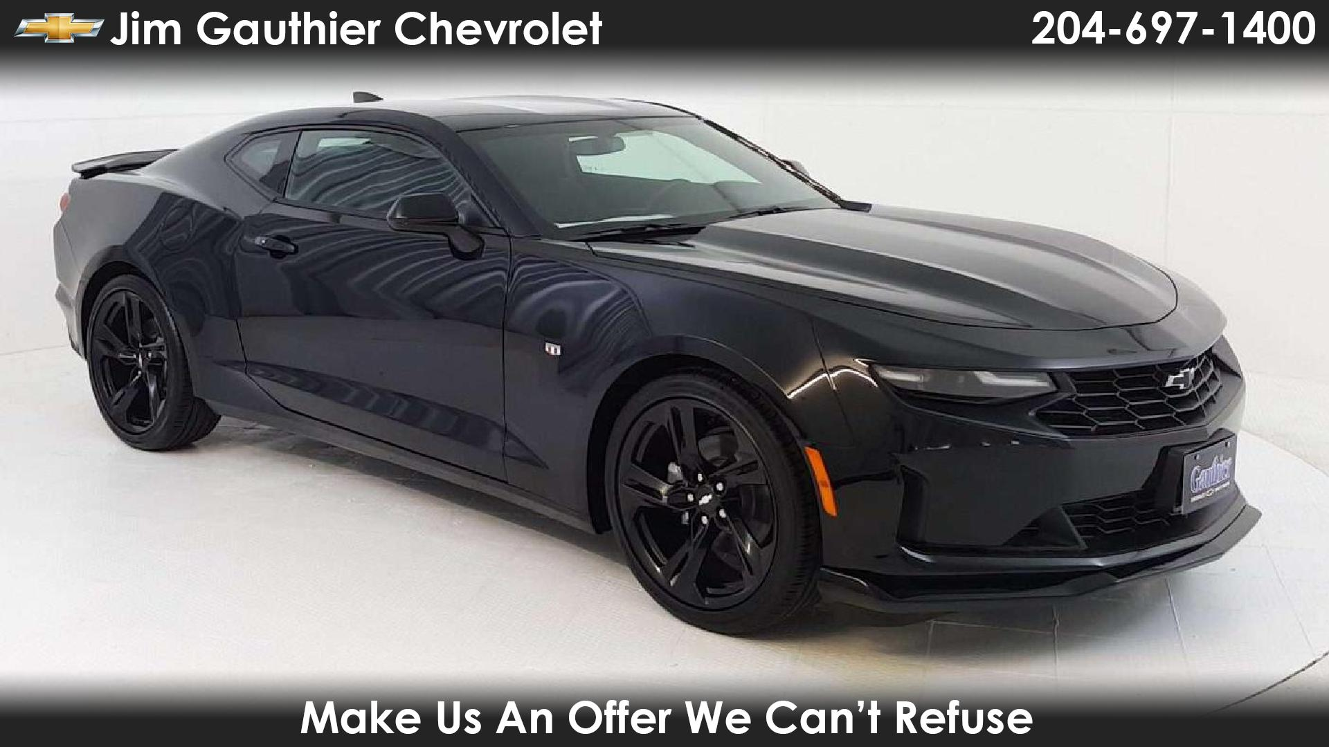 Used Cars For Sale In Winnipeg >> Jim Gauthier Chevrolet In Winnipeg New Chevrolet Camaro