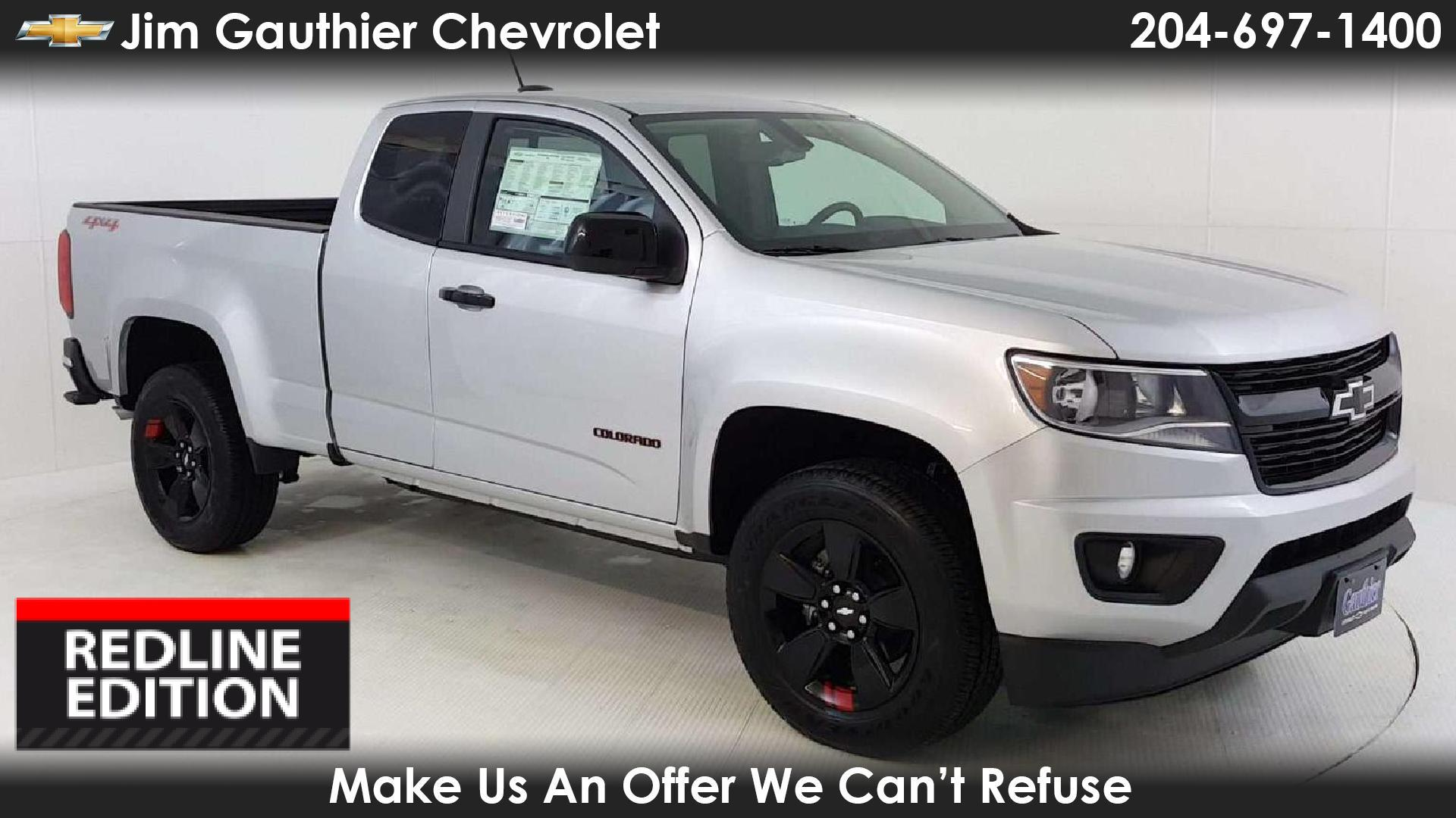 Jim Gauthier Chevrolet In Winnipeg New Chevrolet Colorado Cars