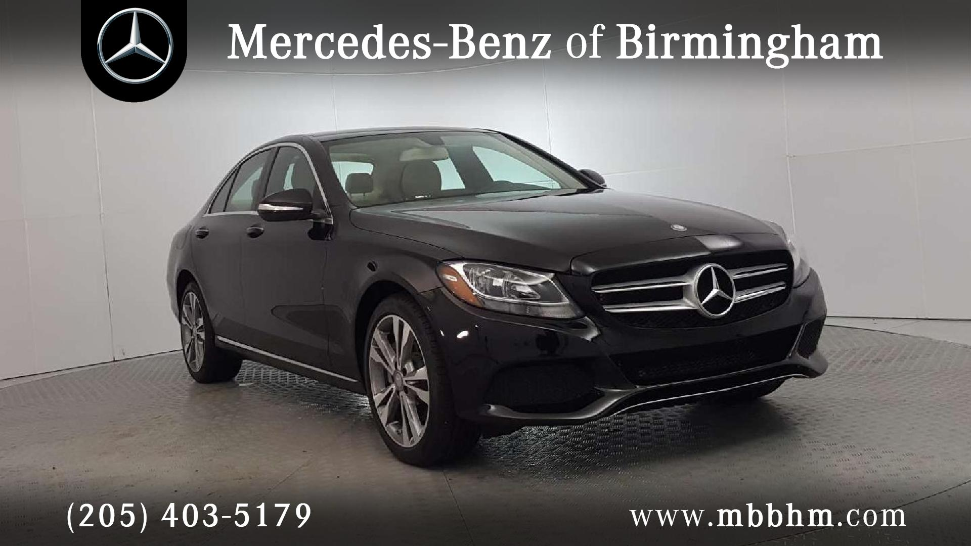 Certified Pre Owned 2015 Mercedes Benz C Class 300 4D Sedan In