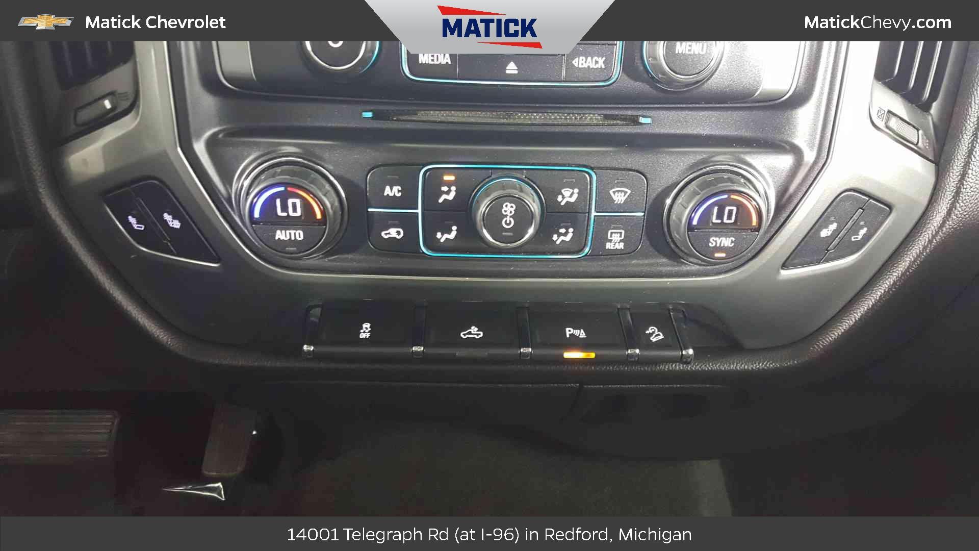 2015 Chevrolet Silverado 1500 In Detroit George Matick Chevy Center Console 21