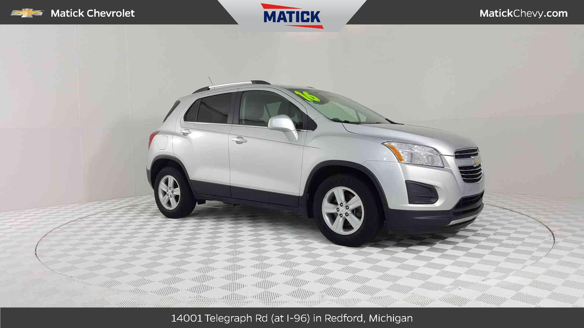 2016 Chevrolet Trax Vehicle Photo In Redford, MI 48239