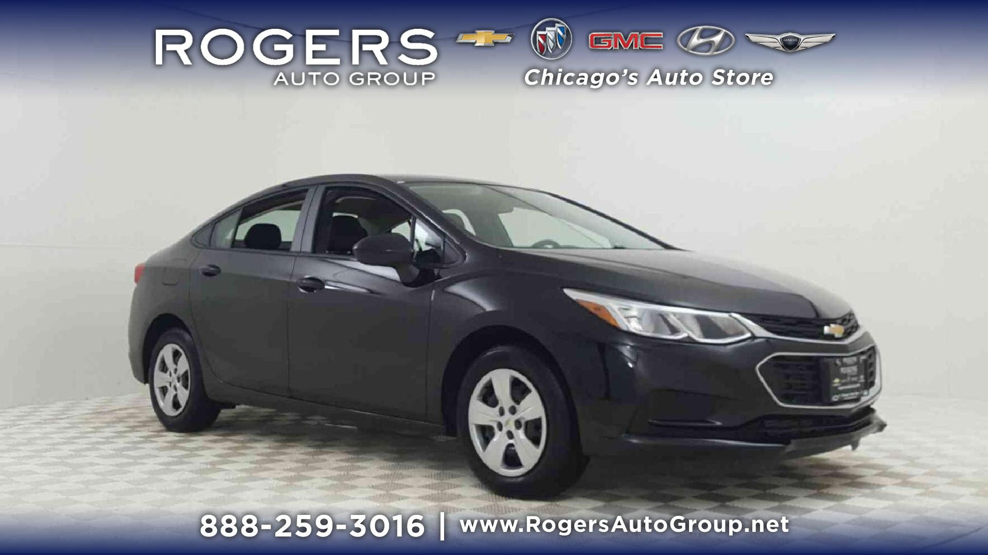 New 2018 Chevrolet Cruze 4dr Sdn 1 4L LS w 1SB 4dr Car in Chicago