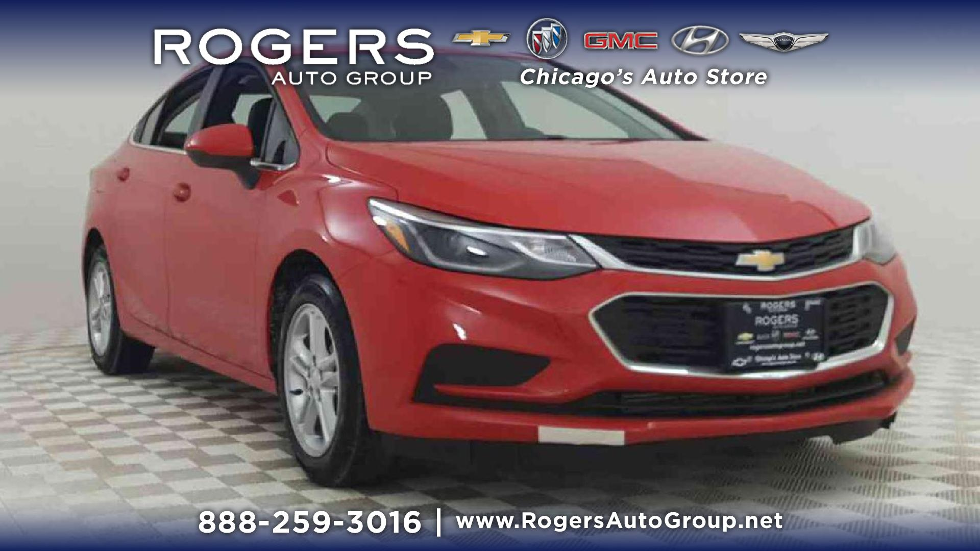 New 2018 Chevrolet Cruze 4dr Sdn 1 4L LT w 1SD 4dr Car in Chicago