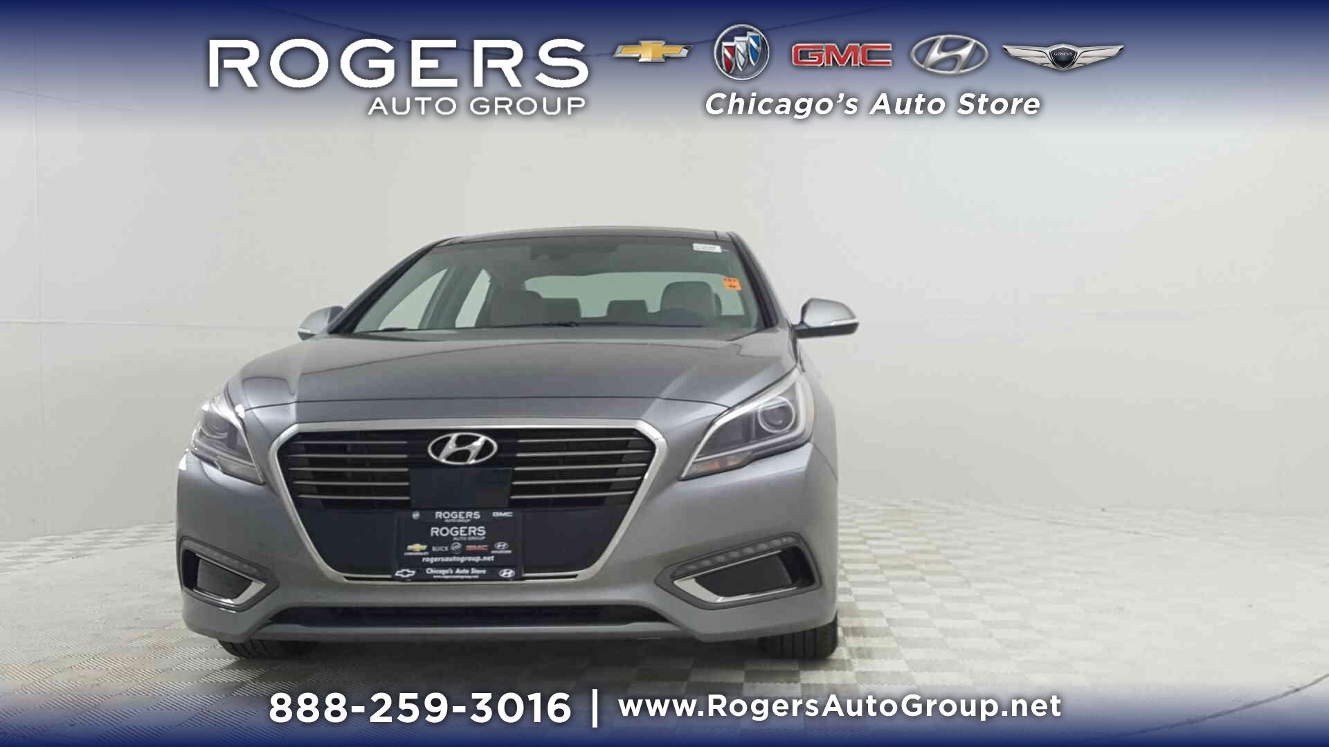 2017 Hyundai Sonata Hybrid Limited 2 0L Metropolis Gray 4dr Car A