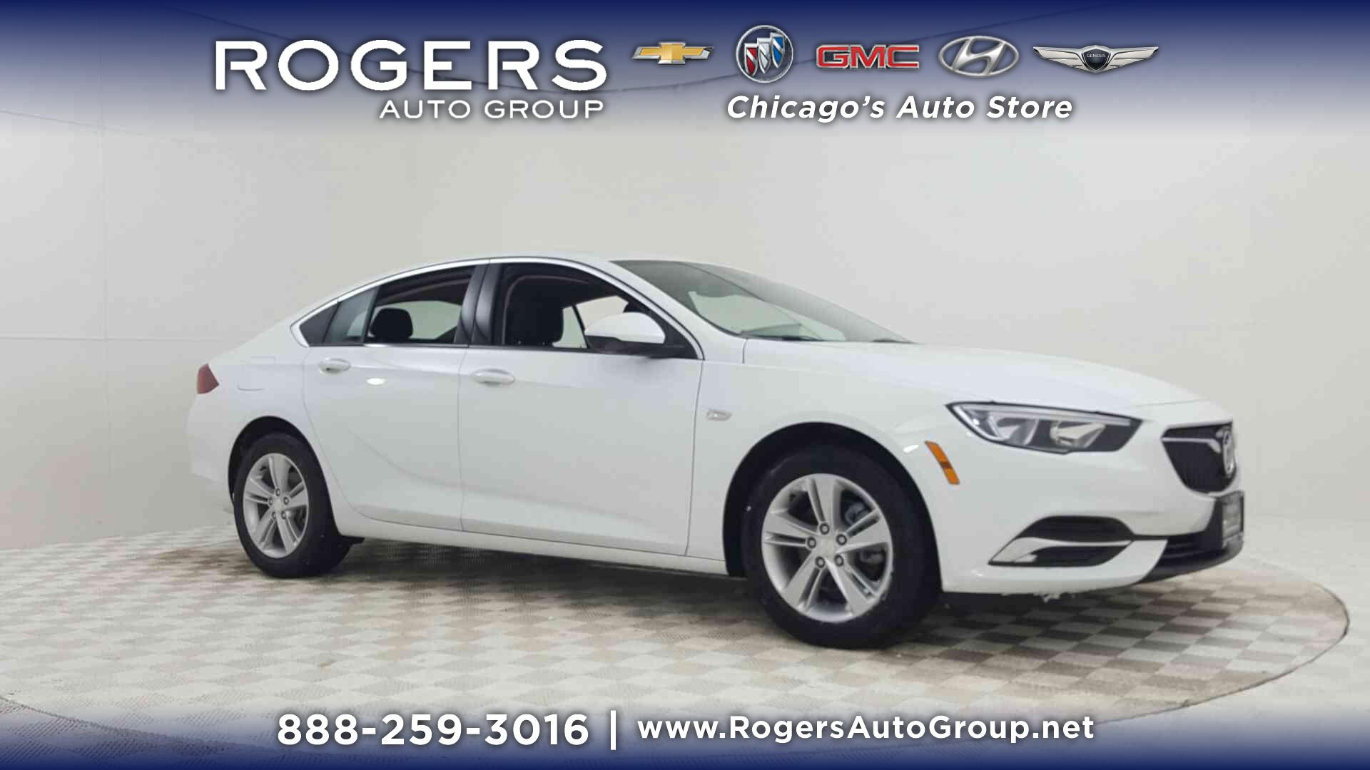 New 2018 Buick Regal Sportback 4dr Sdn Preferred FWD 4dr Car in