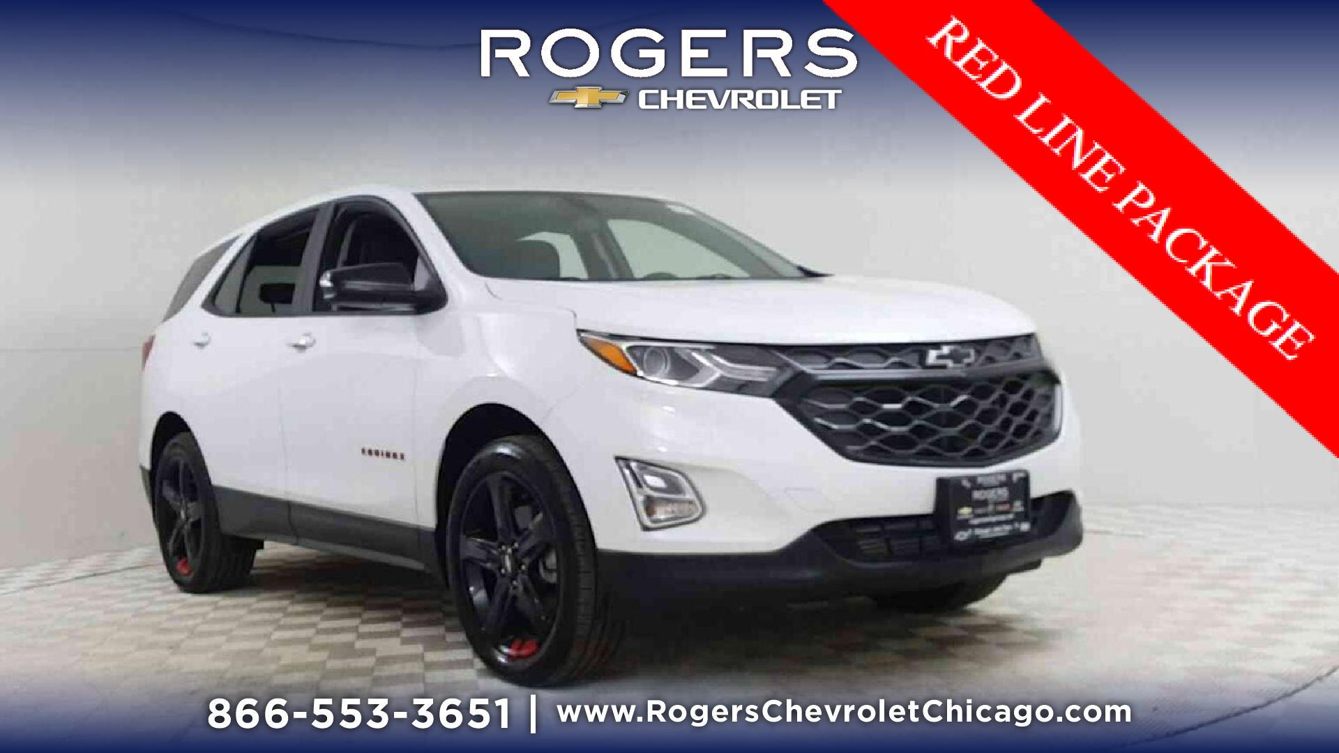 New 2019 Chevrolet Equinox AWD LT in Summit White For Sale