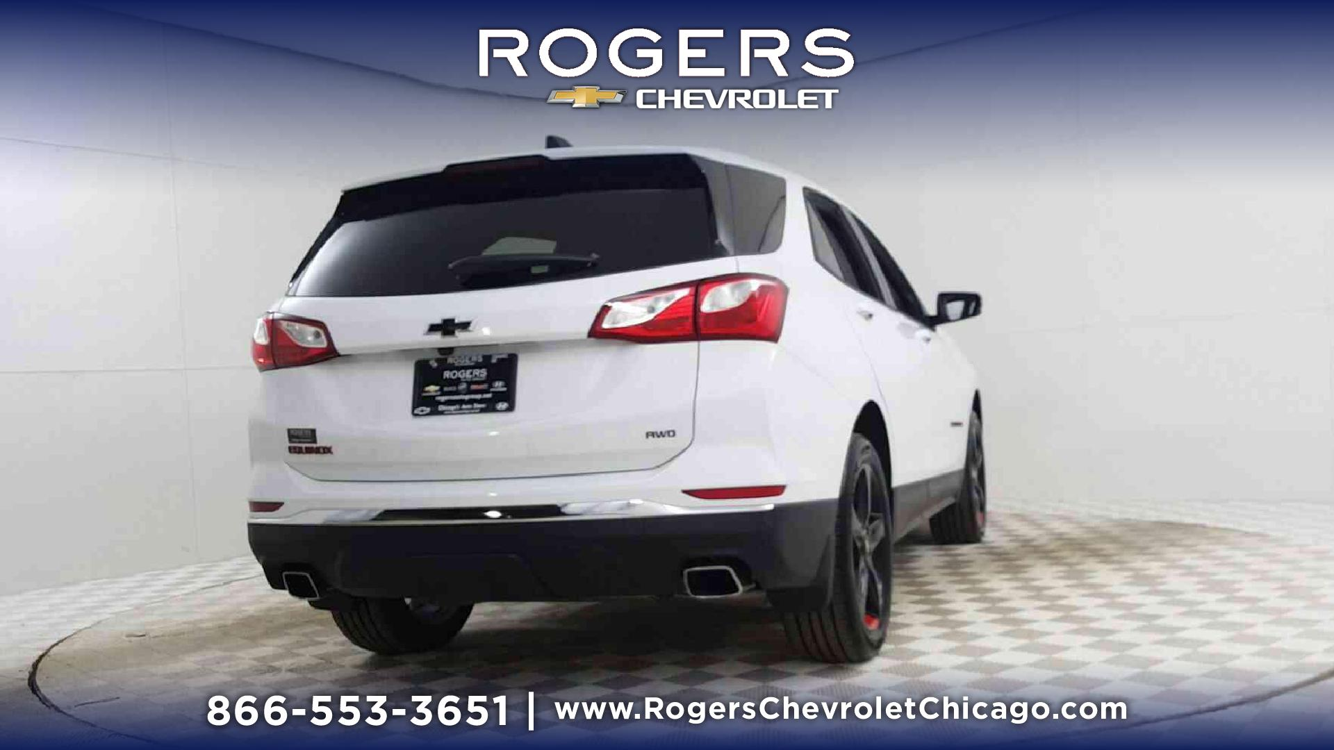 New 2019 Chevrolet Equinox AWD LT in Summit White For Sale in Chicago, IL |  Rogers Chevrolet