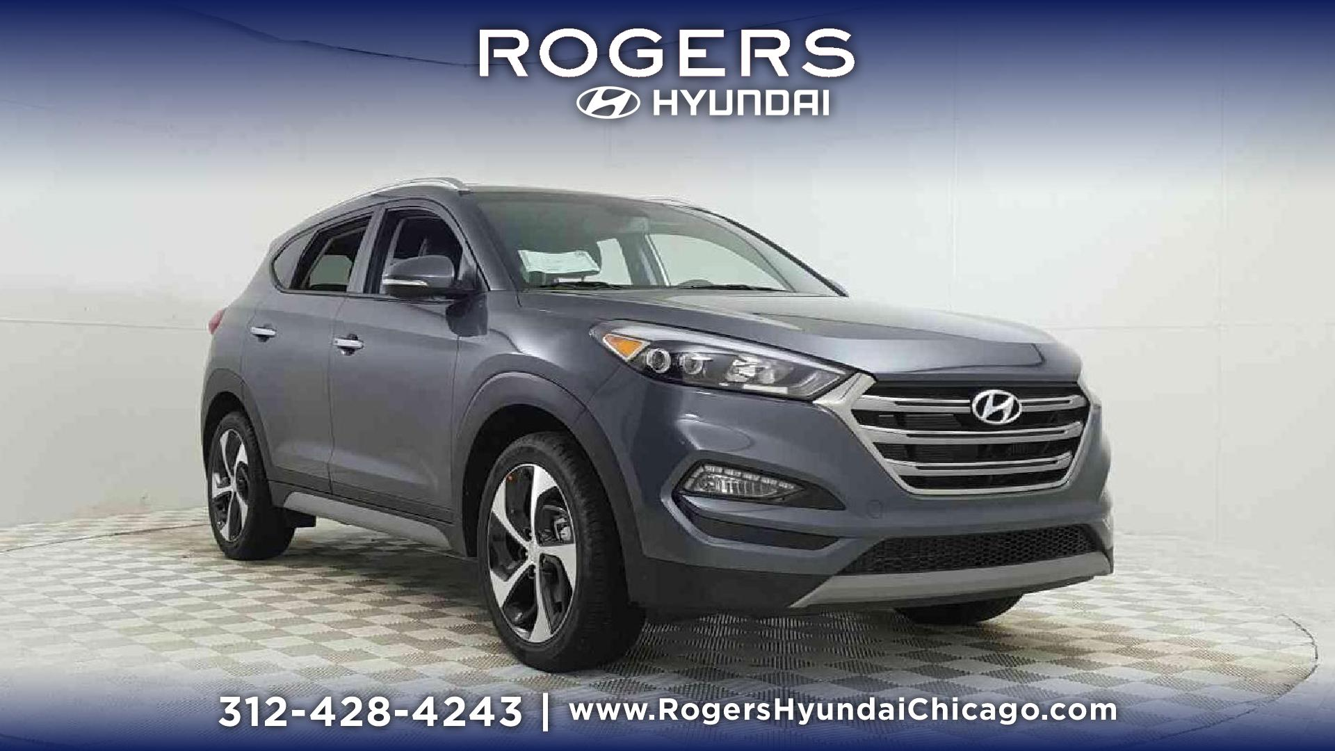 New 2018 Hyundai Tucson Limited AWD Sport Utility in Chicago H8640