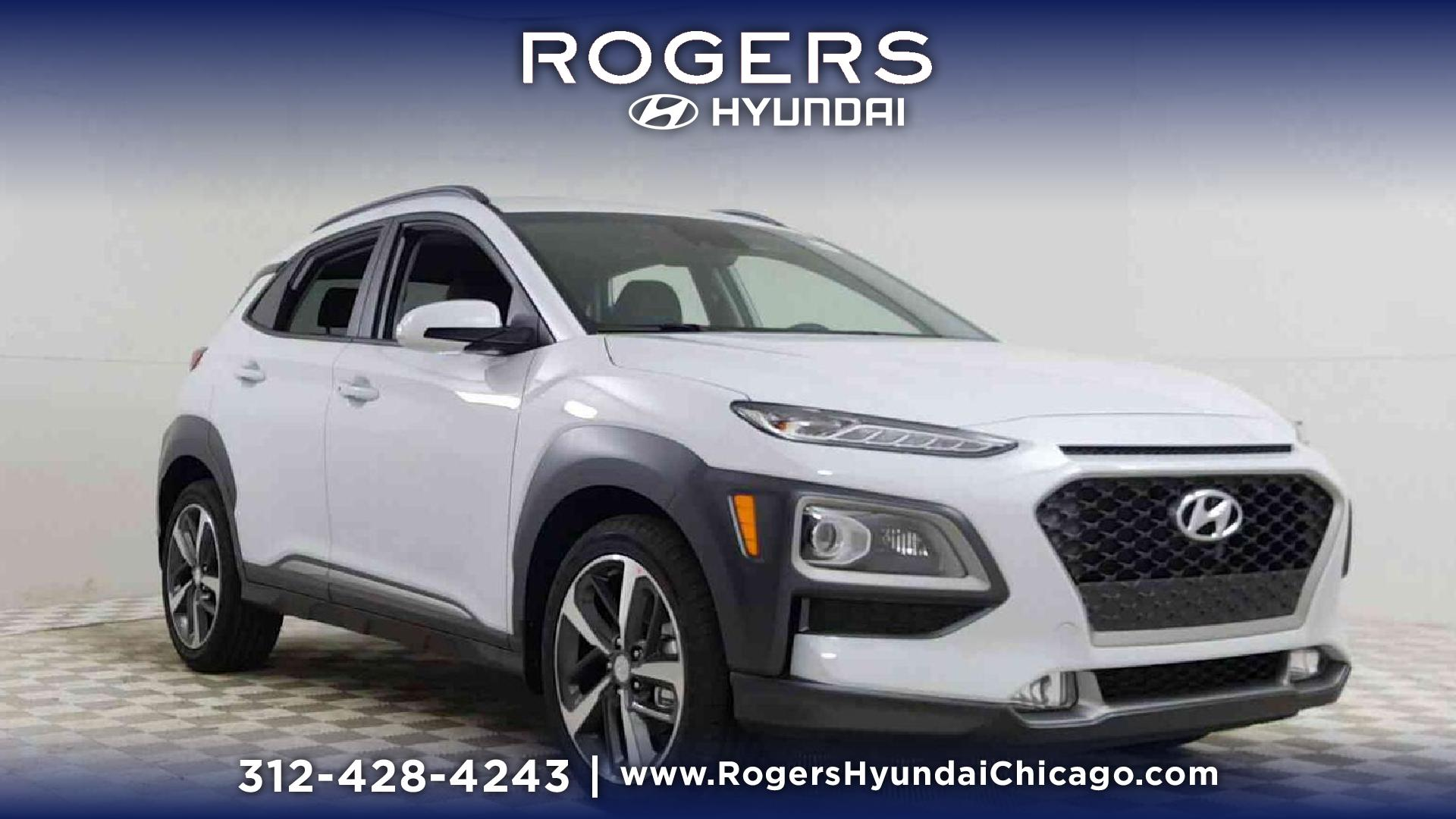 New 2019 Hyundai Kona Limited 1 6T DCT AWD Sport Utility in Chicago