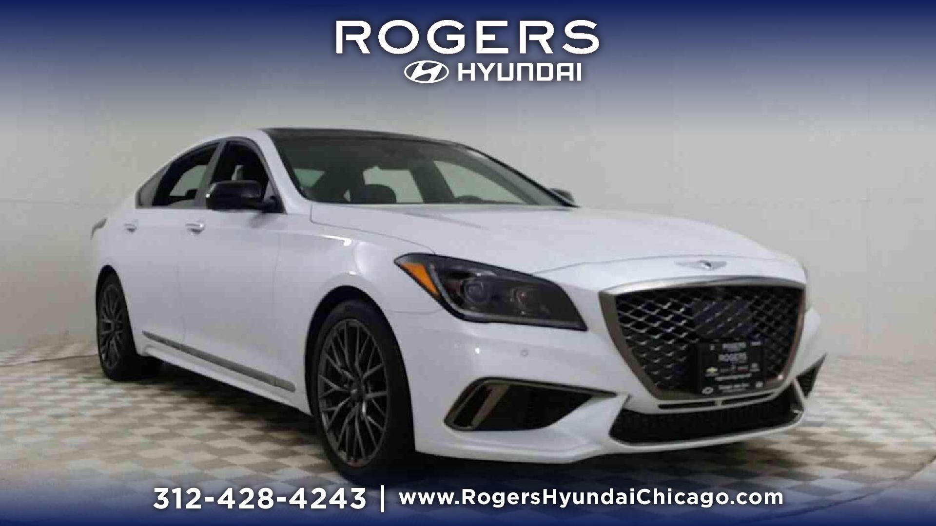 New 2018 Genesis G80 3 3T Sport AWD 4dr Car in Chicago H8431D