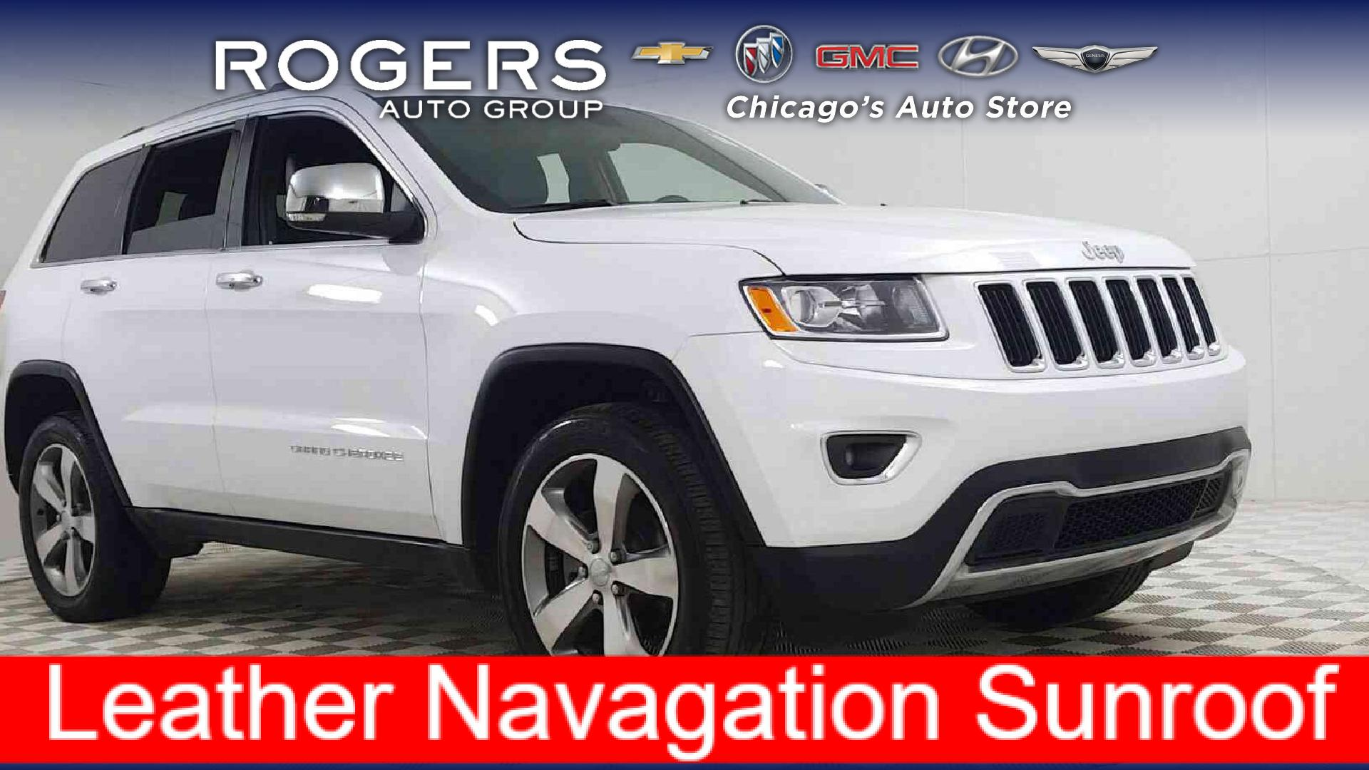 2016 Jeep Grand Cherokee for sale in Chicago