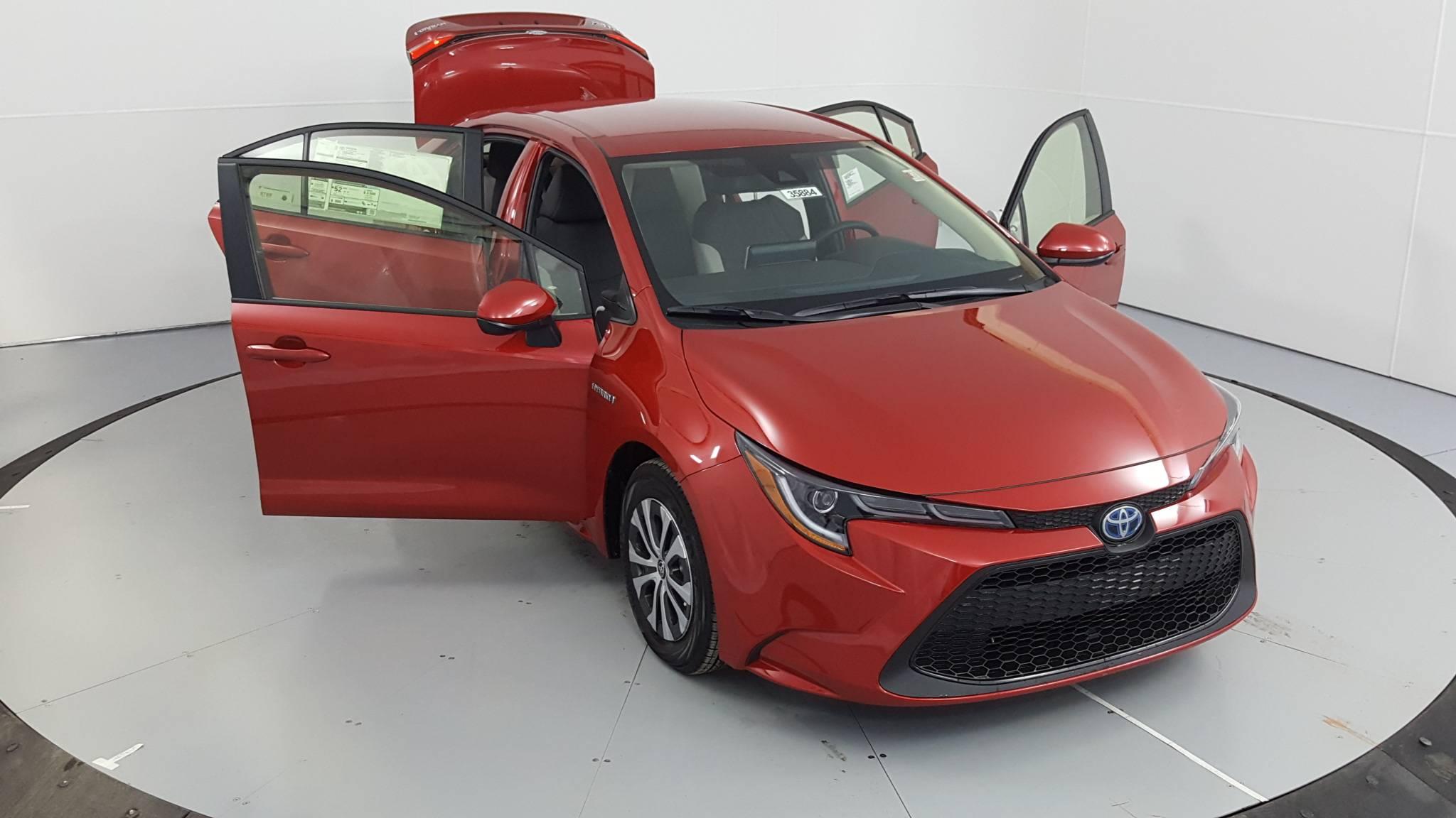 2020 Toyota Corolla Hybrid 4dr Car
