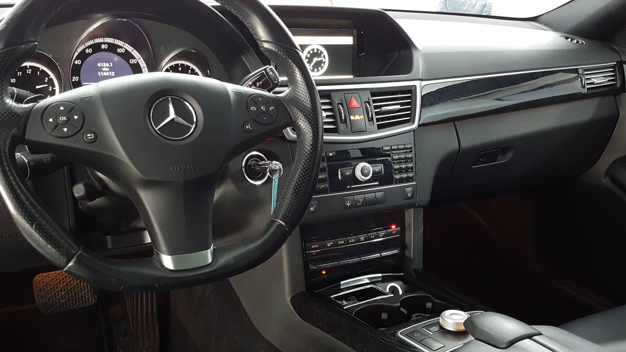 2011 Mercedes-Benz E-Class 4dr Car